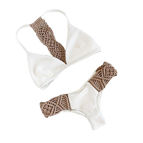 Sinwasd - Conjunto Bikini Sexy Cintura Baja Mujer