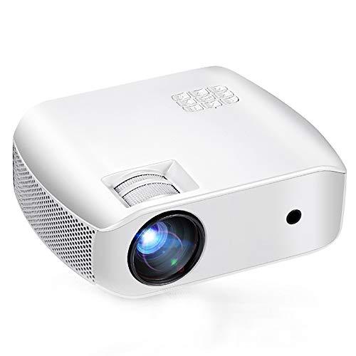Proyector 1080P Proyector de Video HD Tamaño de Pantalla de ...