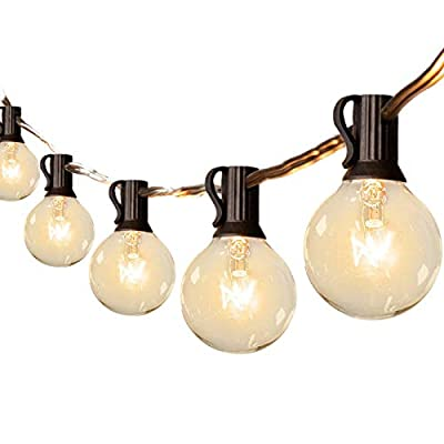 Binval Globe String Lights G40 String Lights UL Listed Patio Lights for Indoor Outdoor Commercial Decoration(3 size)