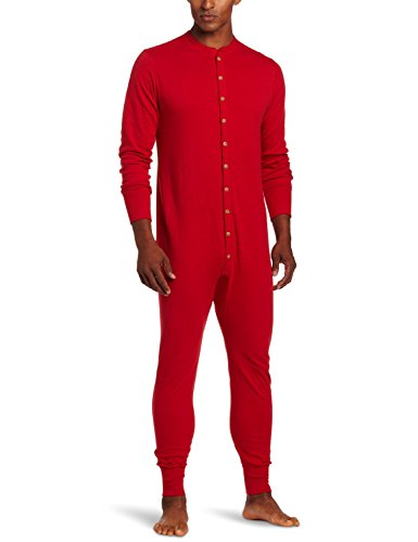 Duofold by Champion Originals Wool-Blend Men's Union Suit_Red_X-Large