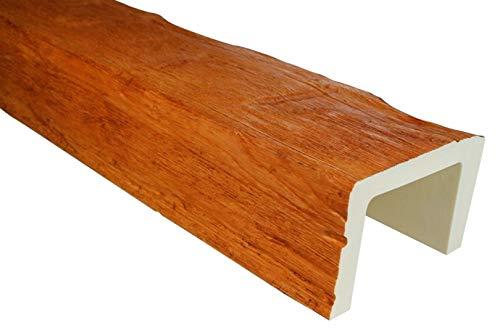 2 Meter | Balken | PU | Holzoptik | Deco Wood | 190x130mm | ED105.H