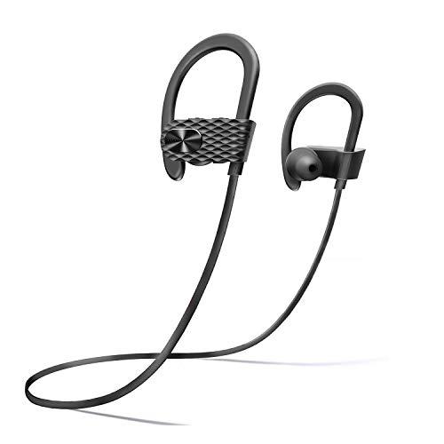 APEKX Bluetooth Earbuds, Sport Wireless Headphones, in-Ear Earphones for Running Gym Sweatproof Stereo Headset