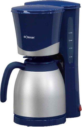 BOMANN Thermo-Kaffeemaschine KA 168 blau Kaffeevollautomat Eletrogeräte