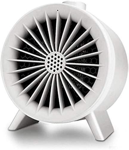 WSJTT Calefactor Calentador de Aire Peque?o para Oficina, hogar, Escritorio, Calentador rápido portátil, Ventilador cálido para Invierno, Calentador para Dormitorio, Sala de Estar