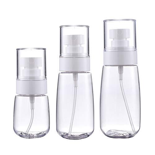 Empty Small Plastic Spray Bottle Plastic Portable Travel Spray Bottle Clear Empty Spray Bottle Empty Refillable Plastic…