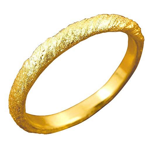 [アトラス]Atrus リング レディース 純金 24金 ホーニング加工 地金リング ストレート 指輪 3号