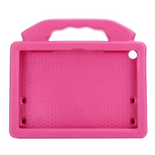Estuche Protector para Tableta, Estuche Protector Estuche Protector anticaídas, EVA, Estuche Protector Apto para niños para Tableta Kindle Fire HD 8 / 8p(Rosa roja)