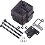 wadoy Exhaust Muffler Bolt Gasket Compatible with Stihl MS310 MS290 MS390 029 039 Chainsaw