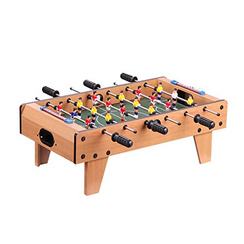 Save %23 Now! TriGold Mini Foosball Table Wooden,Portable Football Table for Kids,Indoor Tabletop So...