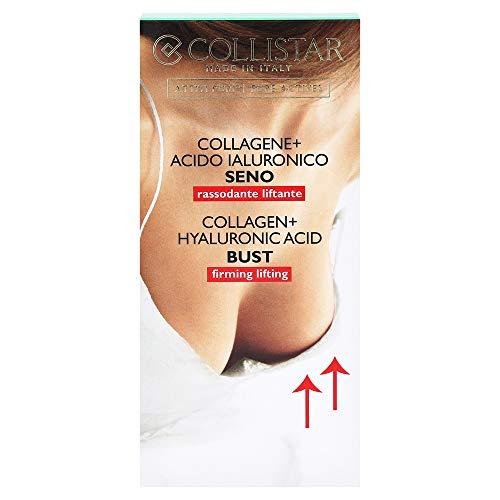 Collistar Attivi Puri Collagene + Acido Ialuronico Seno   Trattamento Urto che ridensifica, ricompatta la pelle e previene le smagliature   Ideale per seno rilassato   50 ml