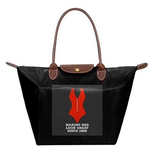 Baywatch badpak maken rode look geweldig waterdicht leer gevouwen Messenger nylon tas reizen tote hoppen vouwen school handtassen