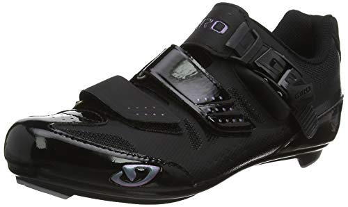 Giro Solara II Road, Women Cycling Shoes Cycling Shoes, Black, 4 UK (37.5 EU)