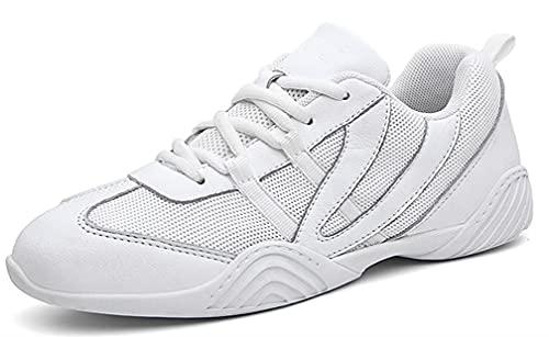 WUIWUIYU - Zapatillas de deporte para mujer, Blanco (blanco), 29 EU