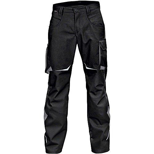 Kübler 24245353-9997-52 Arbeit Hose Pulsschlag mit Seitentaschen, schwarz/anthrazit, 52