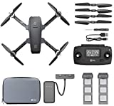 Holy Stone HS720 Foldable GPS Drone with 4K UHD Camera for Adults, Quadcopter with Brushless Motor, Auto Return Home, Follow Me, Long Control Range, Includes Carrying Bag and one Extra Battery