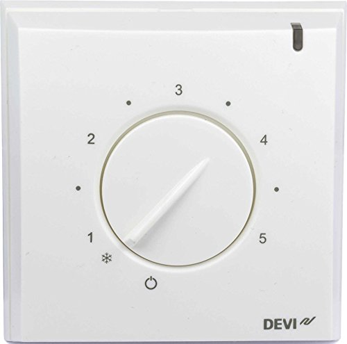 Devi Thermostat devireg 130 pws inkl.Bodenfühler Raumthermostat/Uhrenthermostat 5703466208953