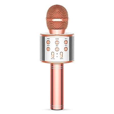 TRONICMASTER Wireless Karaoke Microphone Blueto...