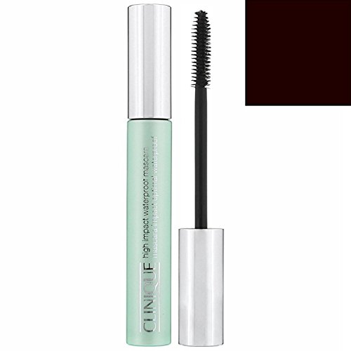 Clinique High Impact Waterproof Mascara 02 Black/Brown, 1er Pack (1 x 8 ml)