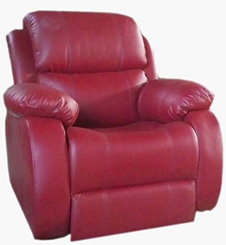 Innovate Recliner & Sofa Manual Recliner Chair - Empirio_Burgundy