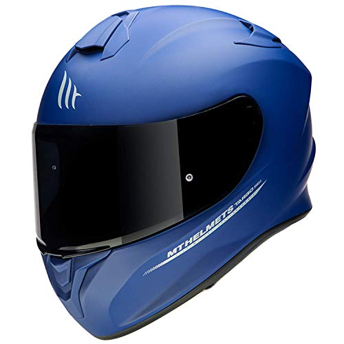 CASCO MT TARGO SOLID AZUL MATE (M)