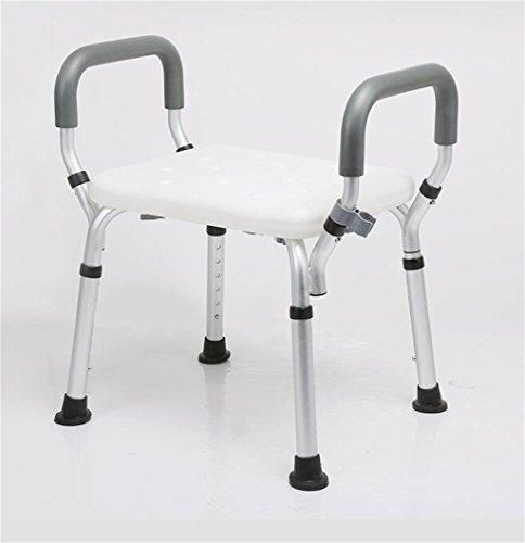 Weq Bench douchestoel Douchestoel/leuning voor gehandicapten Douchestoel in hoogte verstelbaar, draagbaar 130 Kg