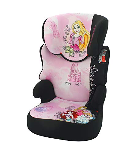 Nania High back booster seat BEFIX groupe 2/3 (15-36kg) - 4 stars ADAC - Made in France