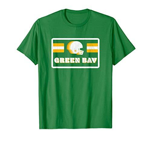 Retro 70s Old School Green Bay Football T-Shirt