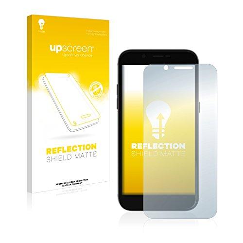 upscreen Entspiegelungs-Schutzfolie kompatibel mit Archos 50 Graphite – Anti-Reflex Bildschirmschutz-Folie Matt