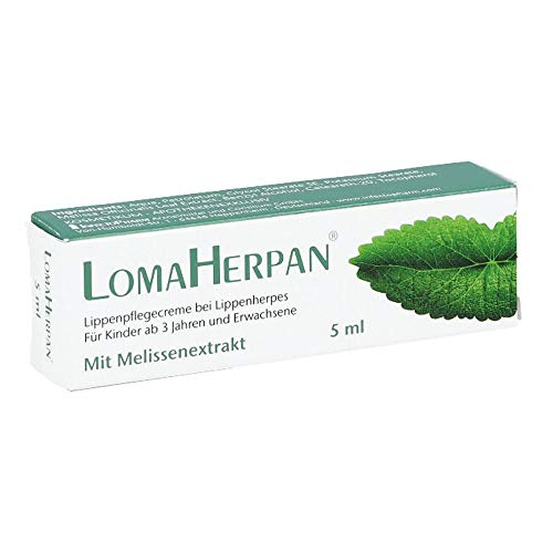 LomaHerpan Lippenpflegecreme mit Melissenextrakt, 5 ml