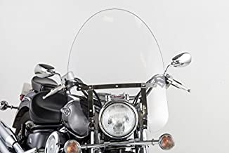 Slipstreamer SS-30-22CQ SS-30 22in. Classic Windshield with Chrome Hardware - Clear