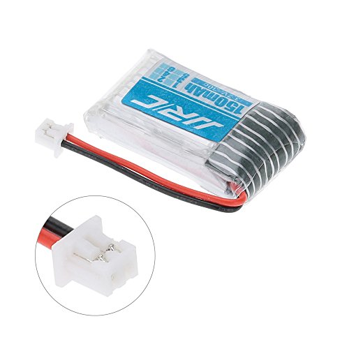 3,7V 150mAh Lipo Akku Batterie (4St) für Eachine E010 JJRC H36 NIHUI NH010 RC Quadcopter Drohne + 4 in 1 Batterien Ladegeräte - 4