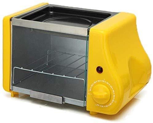 HYY-YY Utensilios de Cocina multifunción Mini eléctrico for Hornear Panadería asado Horno Grill Huevos fritos Sartén Tortilla de Desayuno Máquina Máquina de Hacer Pan Tostadora