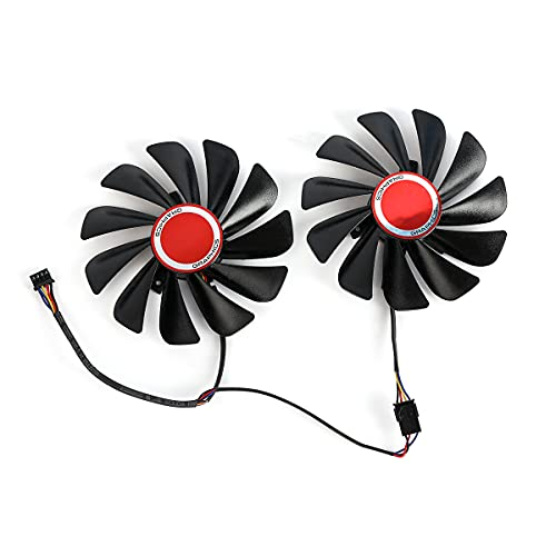 InRobert FDC10U12S9-C 95mm Video Card Cooler Fan Replacement for XFX RX 590...