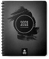 Lucky Life Tools ライフプランナー&目標設定アジェンダ (ブラックデラックス - 2021)