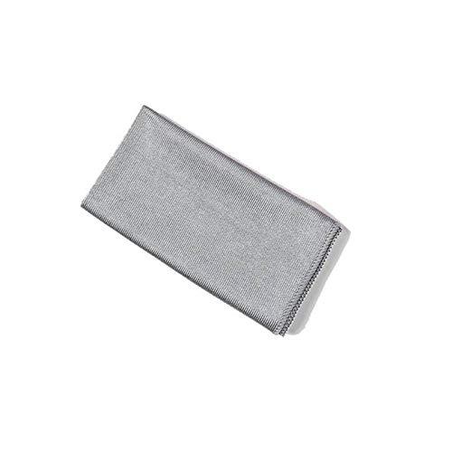 HHDZ Thdzcp Sin Marca absorbible Suave Microfibra sin Pelusa Limpieza Limpieza Toalla Cocina Limpieza Tela de Tela de Vidrio Toallas de Cocina (Color : Gray, Size : 40x60cm)