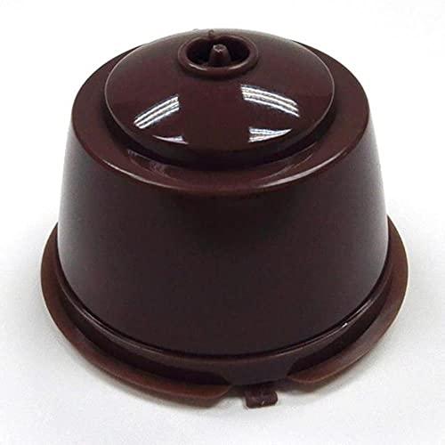 1X Cápsulas de café reutilizables recargables Pod Cup Coffee Filtros de acero inoxidable Herramienta de repuesto para el hogar 2020 New-40X54mm, 1Pcs, Estados Unidos