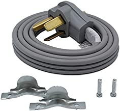 Supplying Demand 3 Prong Wire Dryer Power Cord 30 AMP 250 Volts 10 AWG Compatible With All Major Residential Brands (5 Foot)