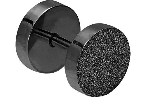 PIERCINGLINE Chirurgenstahl Fake Plug Stecker   DIAMANTOPTIK RUND   Piercing Ohr Tube Tunnel   Farb & Größenauswahl