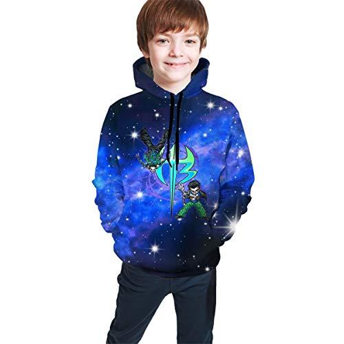 Hidreama Jeff Hardy Logo Boys Girls Novelty Galaxy Hoodies Sweatshirts Pullover