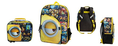 Despicable Me Minions I See You Backpack and Lunch Bag set