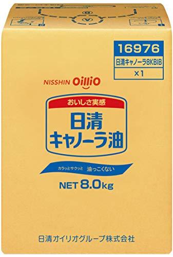 日清オイリオ キャノーラ油 BIB 8kg