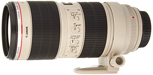 Canon EF 70-200mm f/2.8L is II USM Telephoto Zoom Lens for Canon SLR Cameras (Renewed)