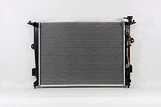 Radiator - Pacific Best Inc For/Fit 13085 09-3/10 Hyundai Genesis Sedan 4.6L 2012 Genesis 4.6L 12-14 Genesis 5.0L Plastic Tank Aluminum 1 Row w/TOC