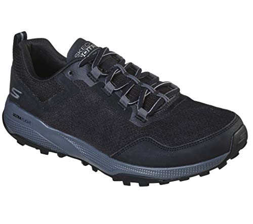 Skechers GOrun Pure Trail - Performance Running & Hiking Trail Shoe Black/Grey
