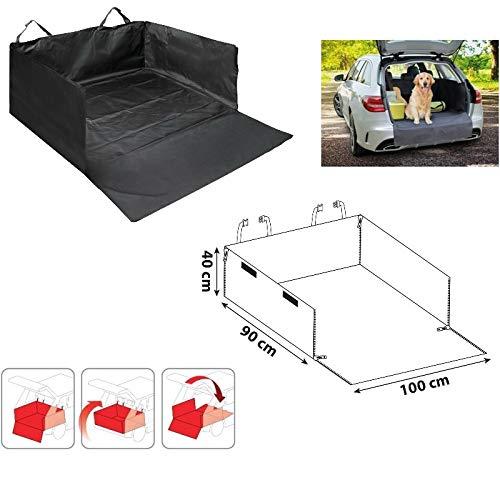 Compatible con Nissan Pathfinder DEPÓSITO DE Maletero para Transporte DE Perros EN Coche CONTENEDOR DE CAPÓ Trasero Impermeable Universal 100CMX90CMX40H