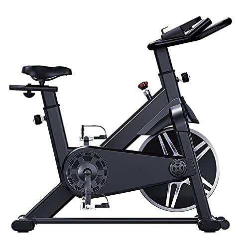 CJDM Bicicleta giratoria para el hogar, Bicicleta estática con Volante de inercia de Acero infinitamente Variable, Equipo de Gimnasia para el hogar, Negocios, Gimnasio, tamaño: 108 * 58 * 112 cm