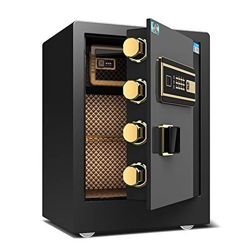 Caja fuerte YXX Seguridad Ignífuga con Bloqueo De Teclado Digital Y 4 Llaves, Cajas Fuertes De Gabinete Grandes para Hoteles Comerciales, Negocios Y Oficinas En El Hogar