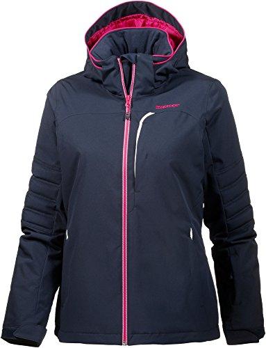 Ziener Damen TARJA Jacket ski Skijacke, Blue Navy, 38