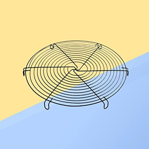 Angoily Vaporizador de Acero Inoxidable Olla a Presión Estante de Enfriamiento Redondo para Alimentos Vegetales Estante Vaporizador de Alambre de Metal Cesta para Wok Pan Cocina