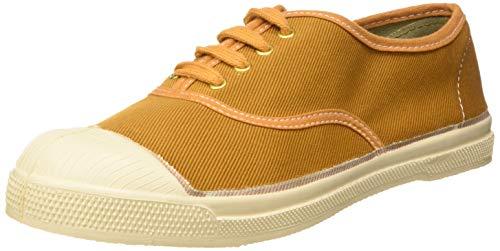 Bensimon Damen Tennis Authentique Femme Sneaker, Braun (Caramel 0748), 37 EU